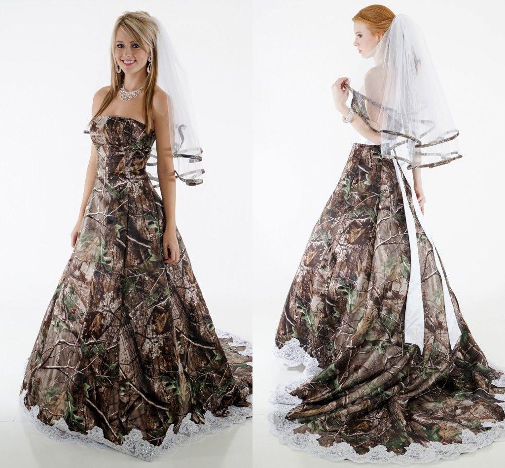 Fullsize Of Camo Wedding Dress