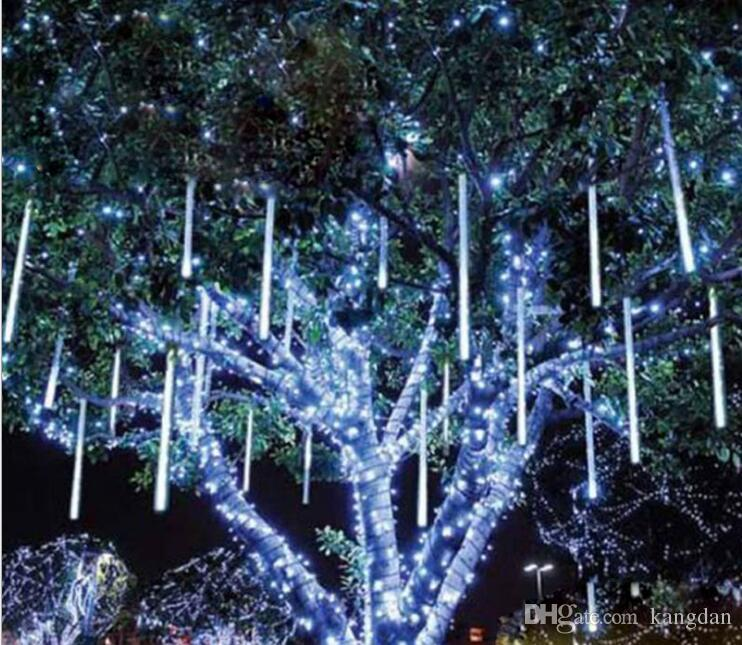 Wholesale Christmas Meteor Lights Outdoor Decoration Waterproof Blue