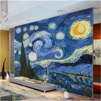 Van Gogh Starry Night Giclee Fine Art Print Mural Photo ...