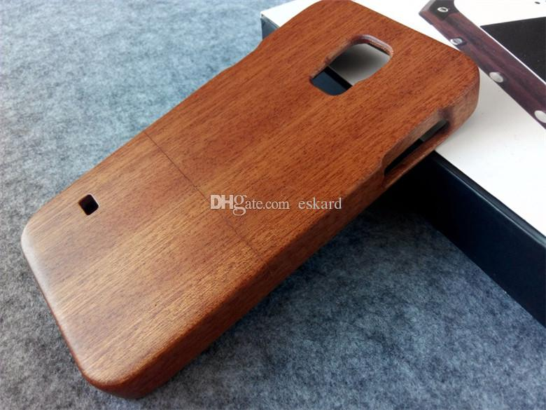 Eskard Wood Phone Cases For Samsung Galaxy S5 Cases Genuine Natural