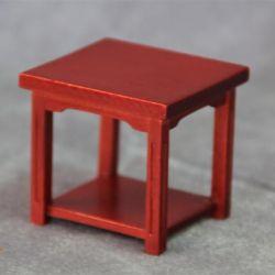 2018 112 Diy Doll House Mini Table Handmade Wood Furniture