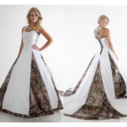 Small Crop Of Camo Wedding Dress
