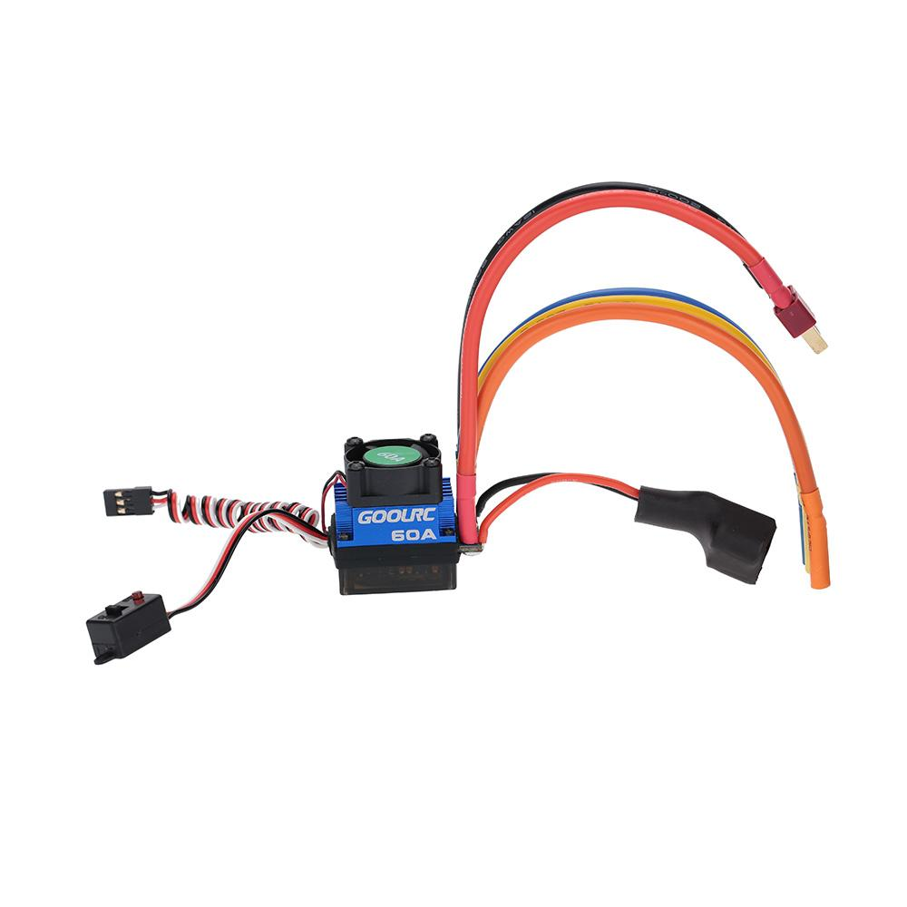 3s Lipo Goolrc 60a 2s 3s Lipo Battery Brushless Esc Electronic Speed Controller With 6v 3a Bec For 1 10 Rc Car Parts Order 18no Track