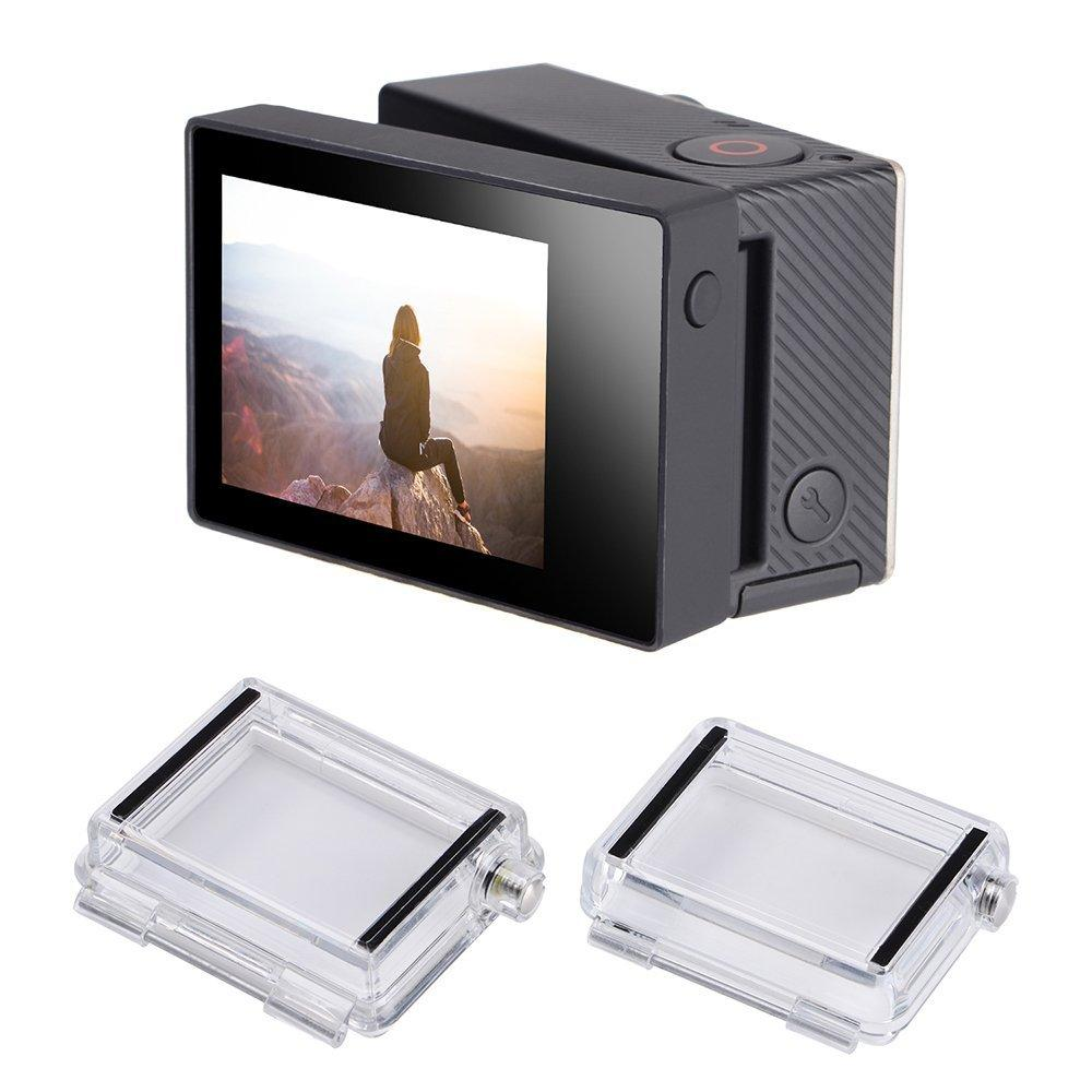 Sturdy Gopro He Ro Accessories Uav Drone Unmanned Aerial Vehicle Display Go Pro Hero Blackcamera Backdoor Back Cover Lcd Screen Display Go Pro Hero Backdoor Back Cover Lcd Screen dpreview Gopro Hero Lcd