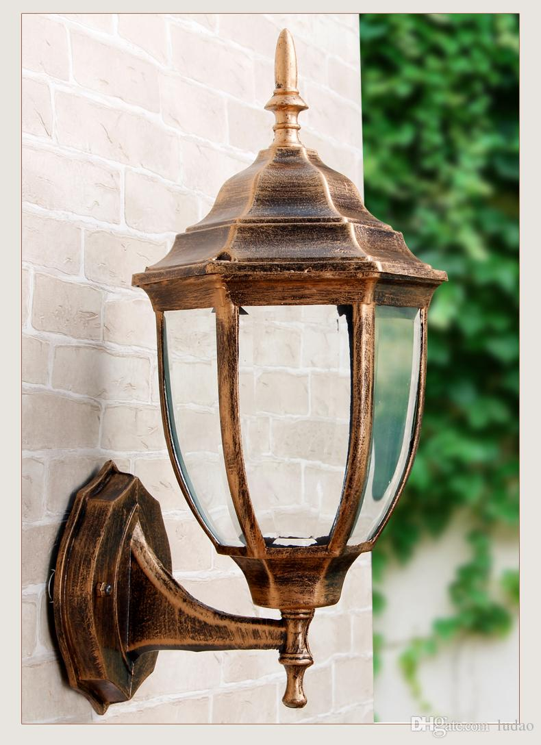 Outdoor Lamps Outdoor Lamp Europe Type Waterproof Wall Lamp Contemporary And Contracted Outside The Balcony Garden Lamps And Lanterns Of Led Street Light