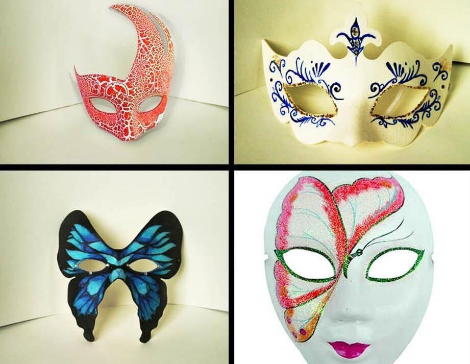 9 Design Crown Butterfly Swan Diy Painting Self Portrait