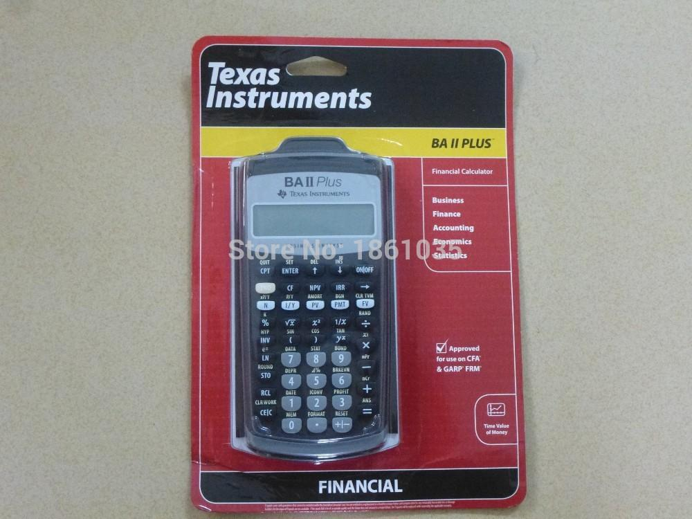 2018 Brand New Texas Instruments Ba Ii Plus Financial Calculator Cfp