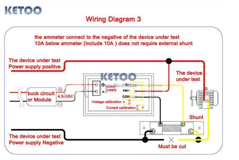 auto amp meter wiring diagram vdo ammeter shunt wiring diagram