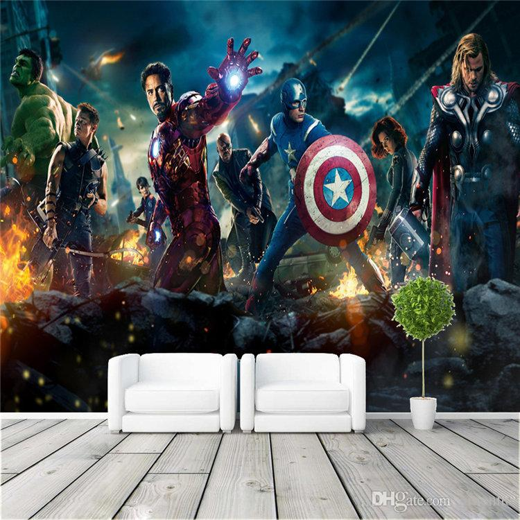 The Great Wall Movie Wallpaper Hd The Avengers Wall Mural Hulk Captain Americ Thor Photo