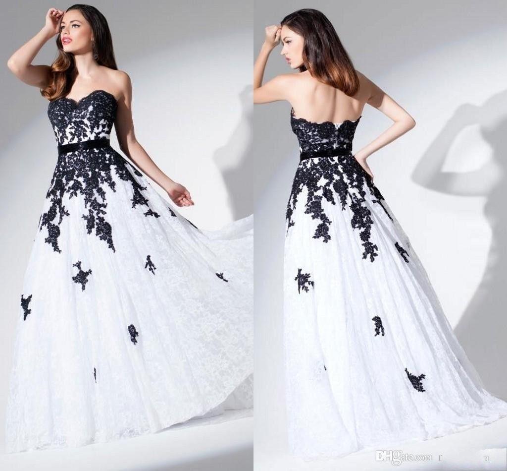 Fullsize Of Black Lace Wedding Dress