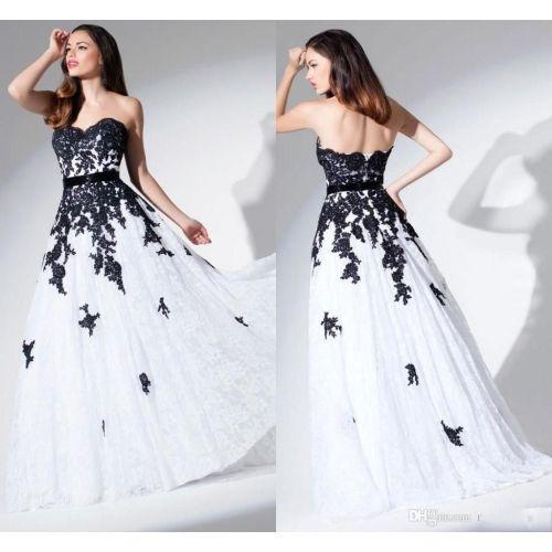 Medium Crop Of Black Lace Wedding Dress