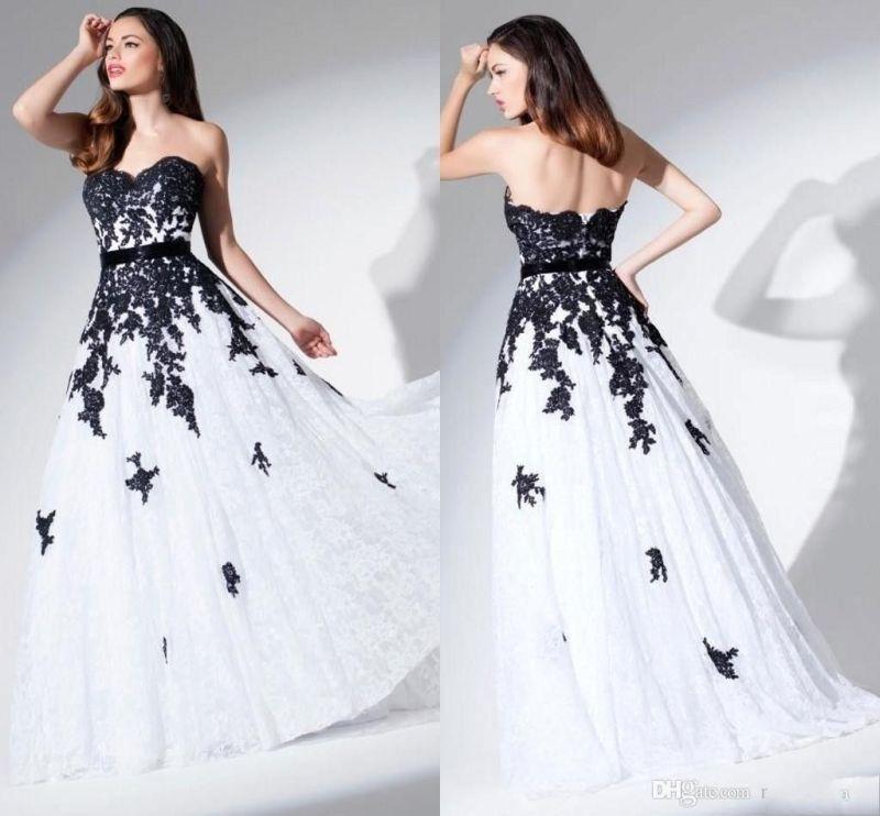 Large Of Black Lace Wedding Dress