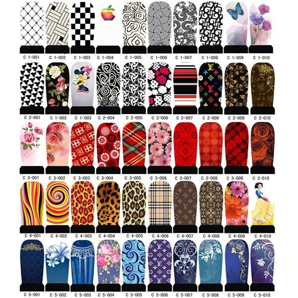 Nail Stickers All Nail Art Water Transfer Printing Sticker Nail