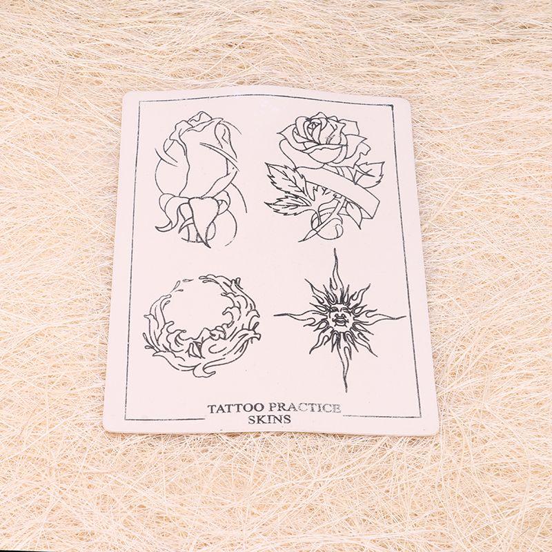 Hot Sales Flower Tattoo Practice Skin Multifunction Tattoo