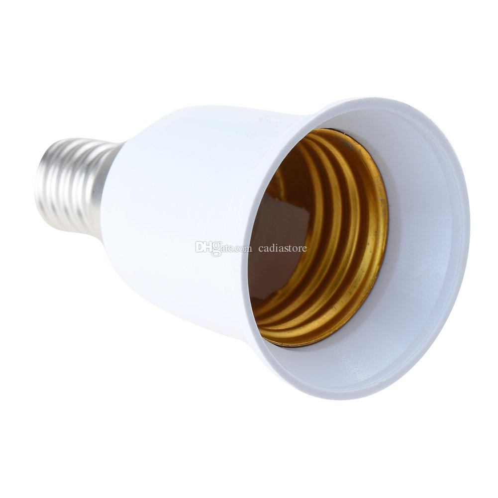 E14 E27 Adapter 1pc E14 To E27 Base Screw Led Lamp Bulb Holder Adapter Socket Converter E00167 Cad