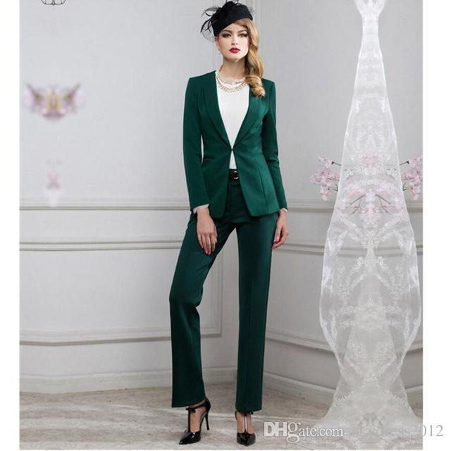 2018 Women Pant Suits Women Suit Fashion Professional Ol Dress - women suits pant