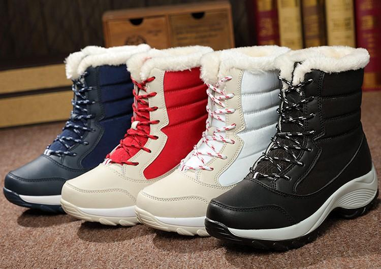 2016 New Winter Shoes Women39s Boots Students Shoes Snow