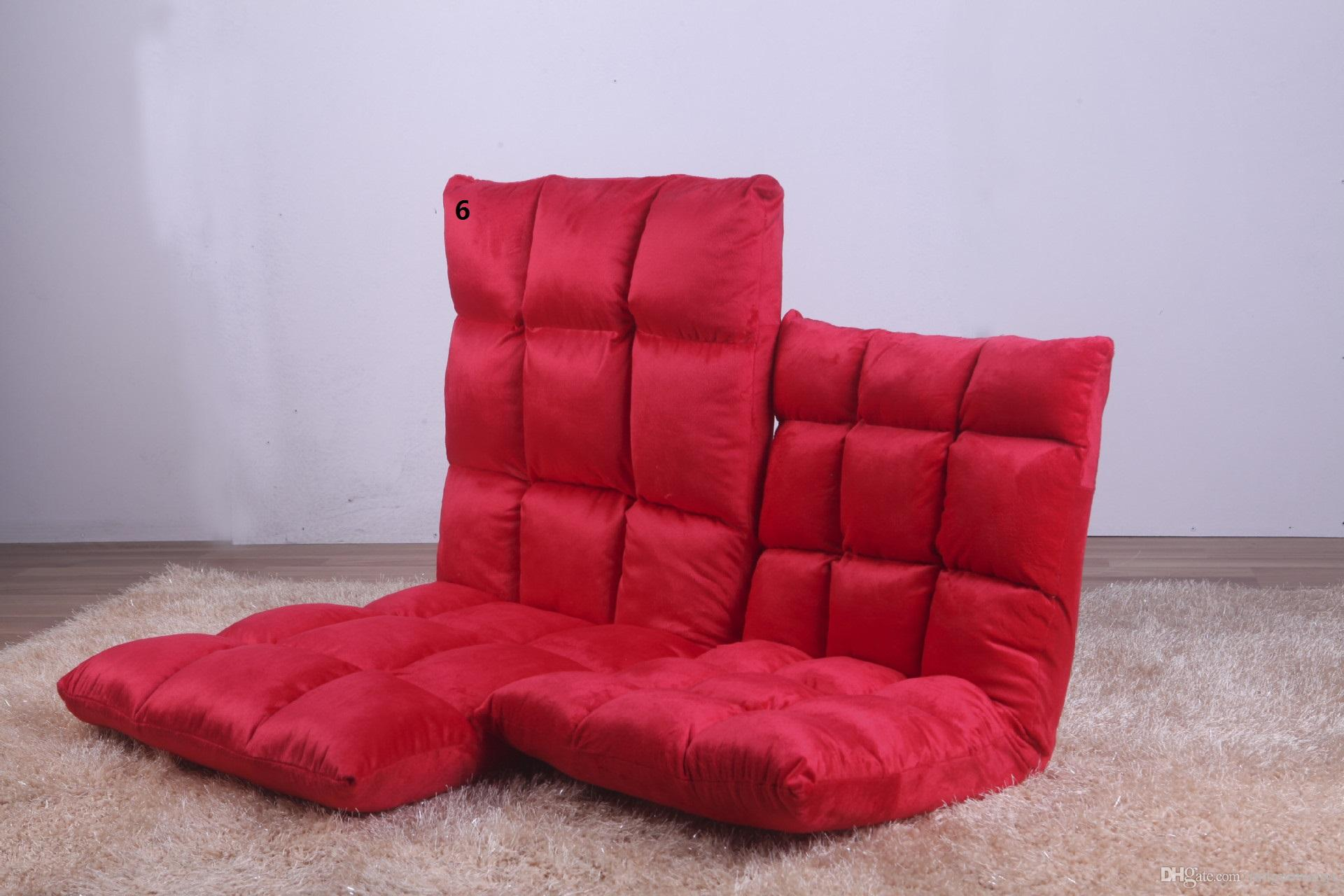Mini Couch 6 Gears Lazy Sofa Couch Couch Rice Small Single Sofa Chair Folding Bed Floor Window On The Chair Fashion Mini Sofa