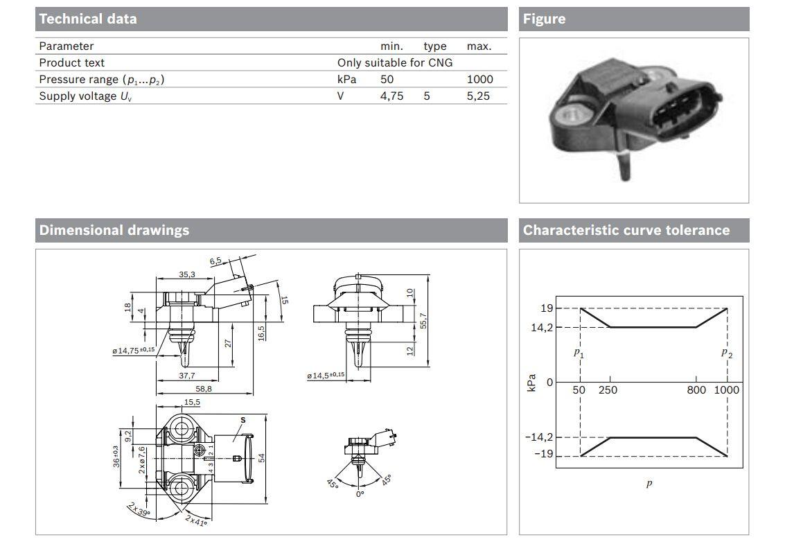 differential temperature sensor