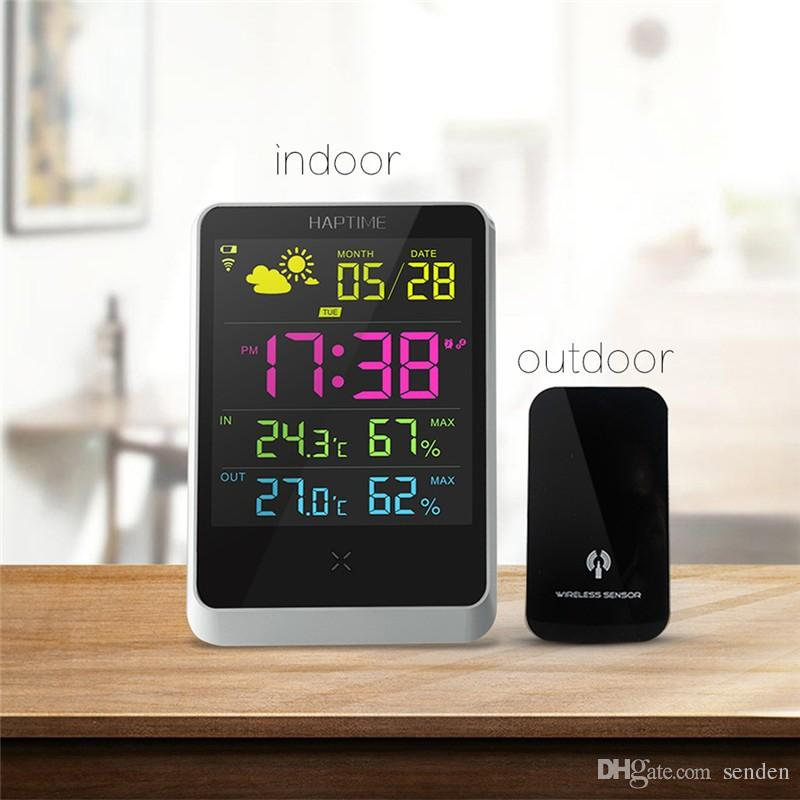 Digital Weather Forecast Station Wireless Sensors for Time/ Indoor