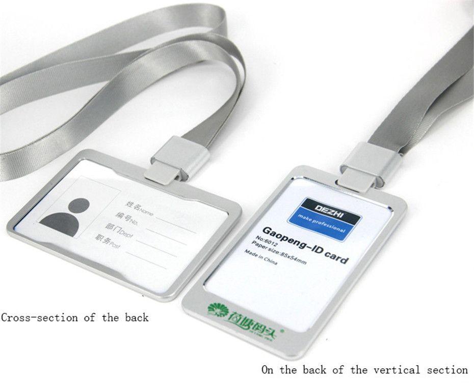 High Grade Aluminum Alloy Badge Holder Ultralight Metal