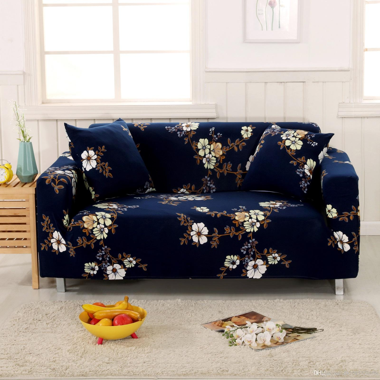 Quality Sofa Covers High Quality Printed Fabric Sofa Covers Washable Stretch Printed Sofa Cover Flower Elegant Sectional Sofa Slipcovers Home Decoration