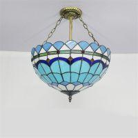 Blue Tiffany Pendant Lamp. tiffany ceiling pendant light ...