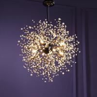 Modern Chandeliers Firework LED Vintage Wrought Iron ...
