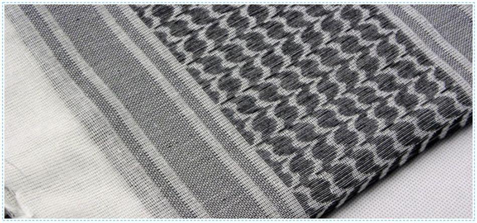 Cotton Thick Muslim Scarfs 110110cm Hijab Shemagh