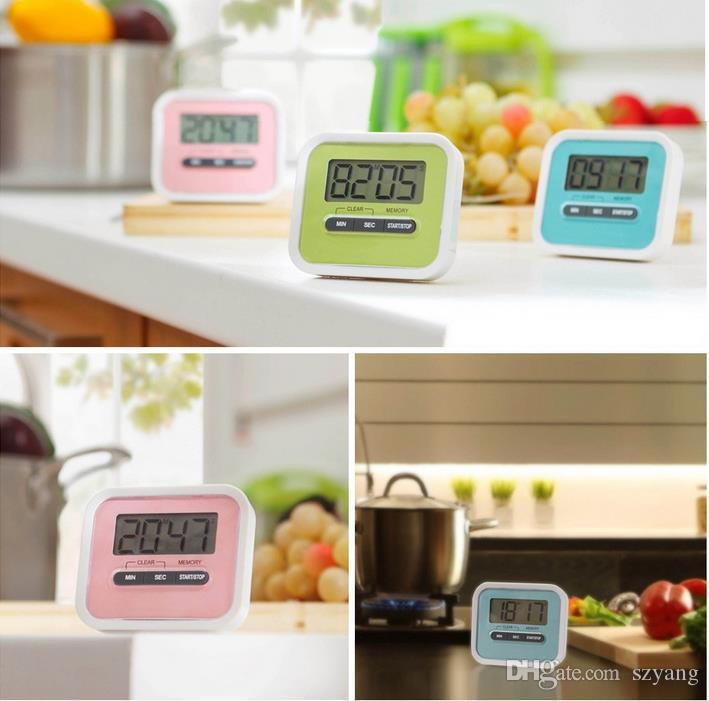 2019 Timer Kitchen Cooking 99 Minute Digital LCD Alarm Clock