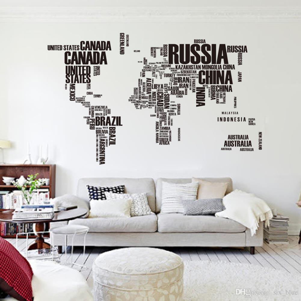 World Map Decorations Seoproductname