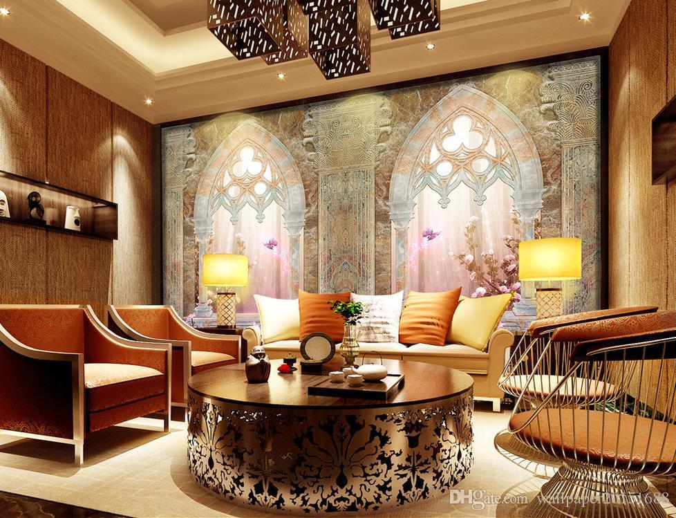 3d Wallpaper For Master Bedroom Wallpaper For Walls 3 D For Living Room Roman Column