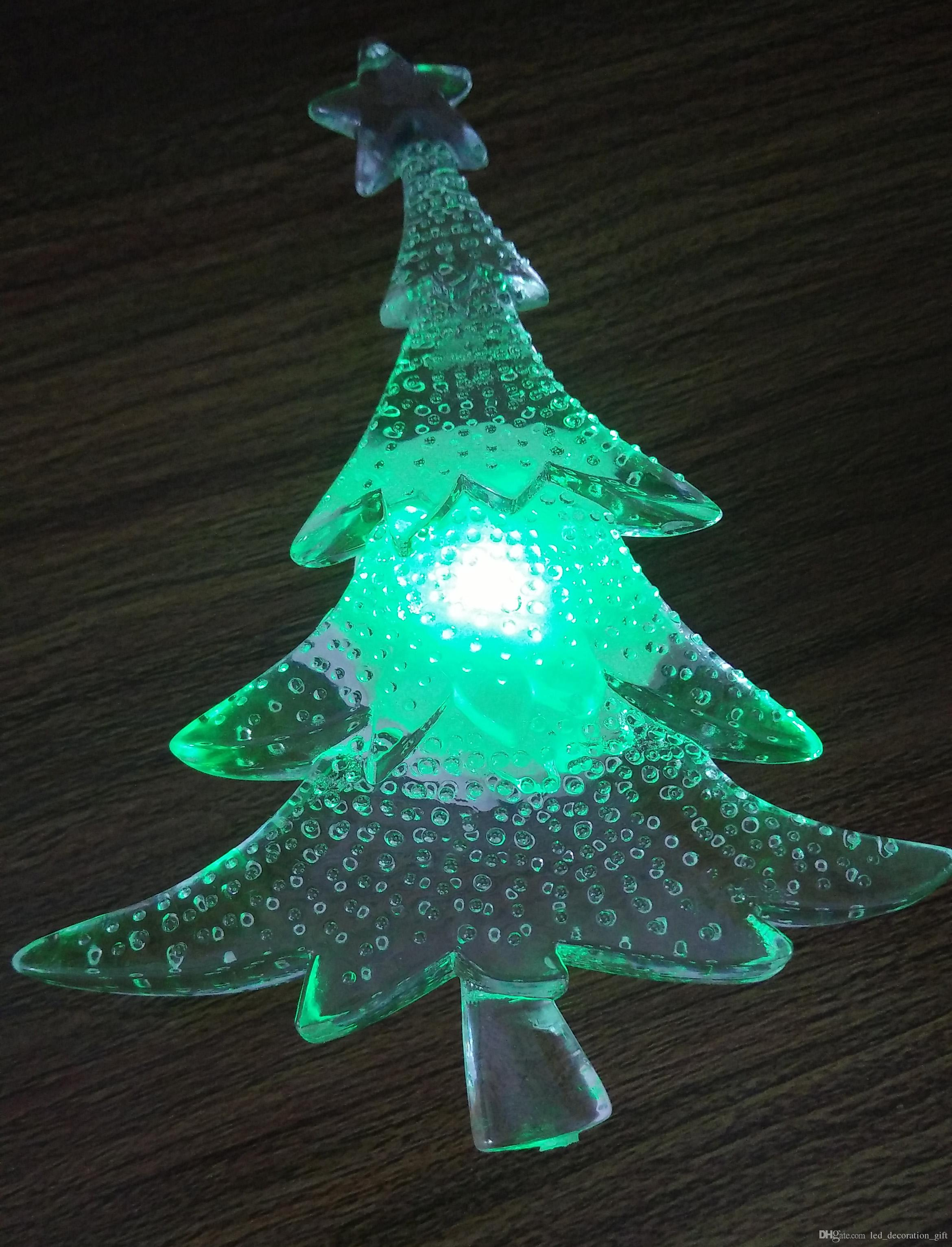 Dropshipping Decoration New Brand Led Window Suction Christmas Tree Table