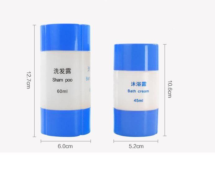 2019 3 In 1 4 In 1 Portable Plastic Empty Shampoo Skin
