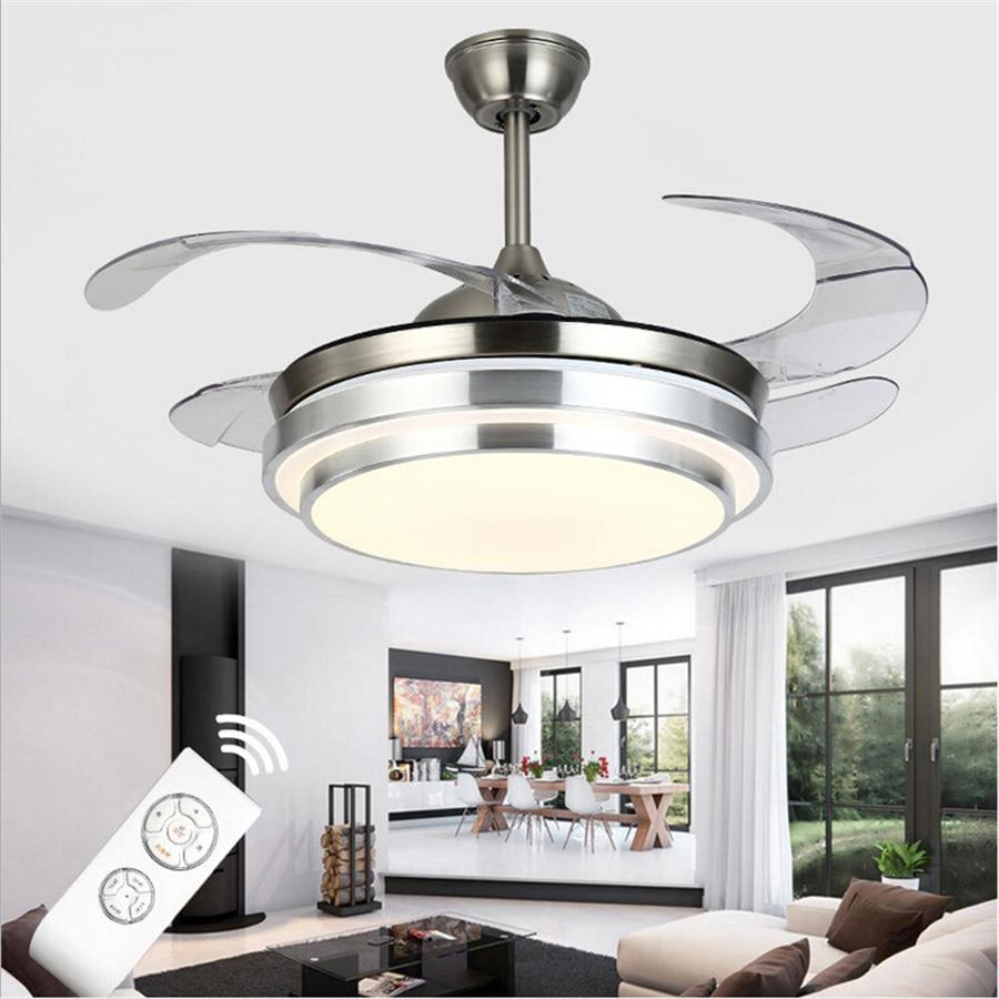 2019 Ultra Quiet Ceiling Fans 110 240v Invisible Blades - Quietest Ceiling Fan