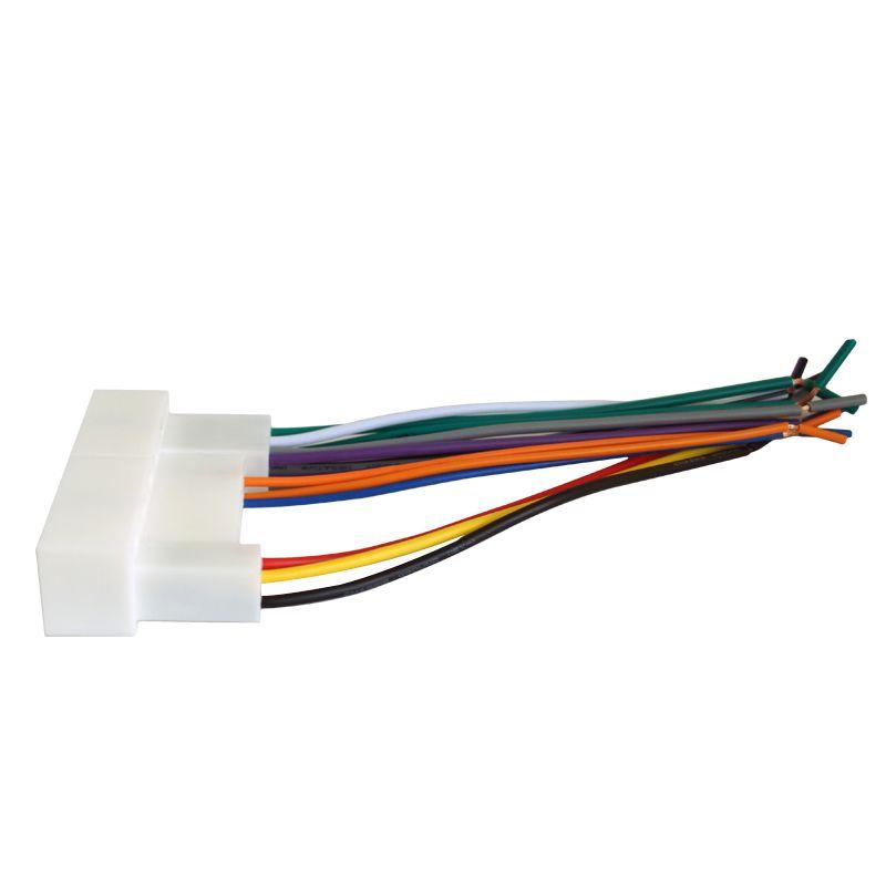 LEEWA Car Radio Stereo Wiring Harness Adapter Plug For Hyundai IX35