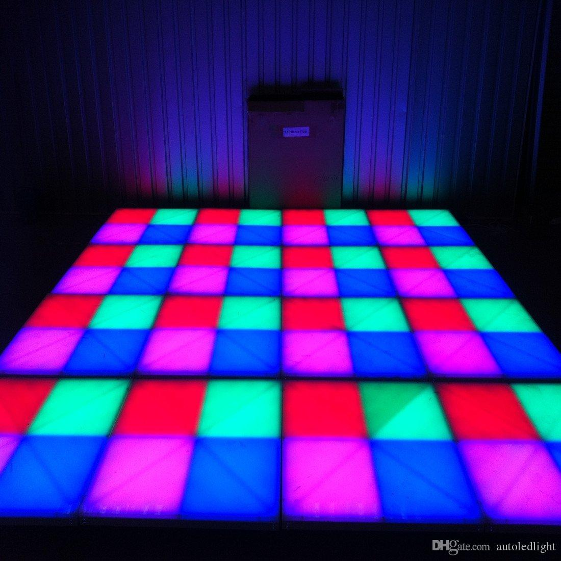 Lighting Rgb Rgb Led Dance Floor Panel Dancing Dance Floor Stage Light Disco Panel 432pcsx10mm Led Dance Floor Disco Ktv Light Stage Lighting