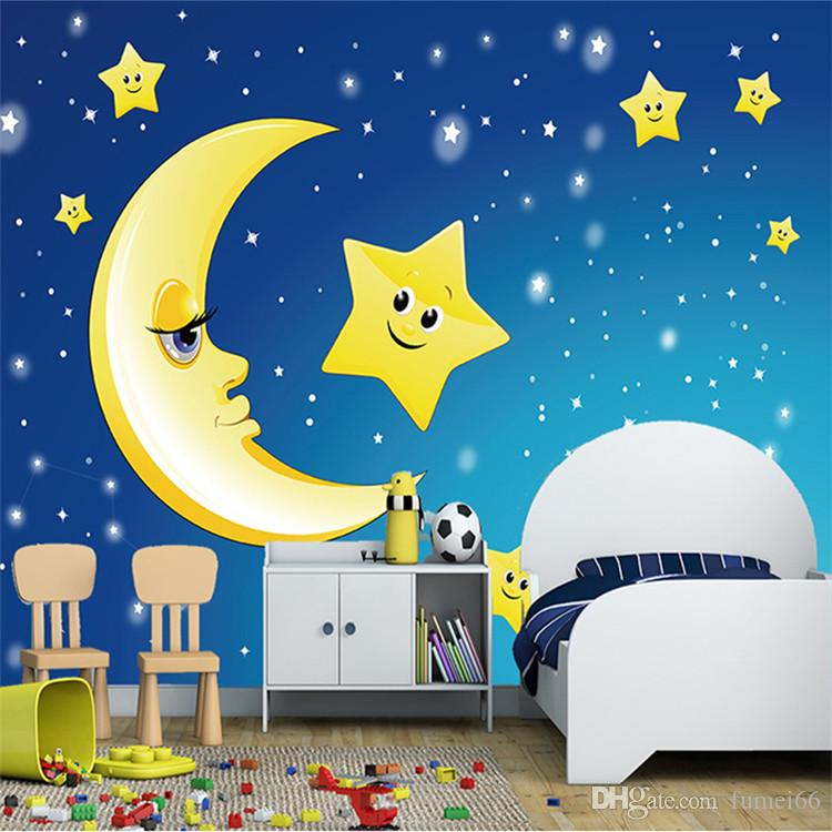 Cute Baby Dolphin Wallpaper Custom 3d Photo Wallpaper For Kids Room Ceiling Murals