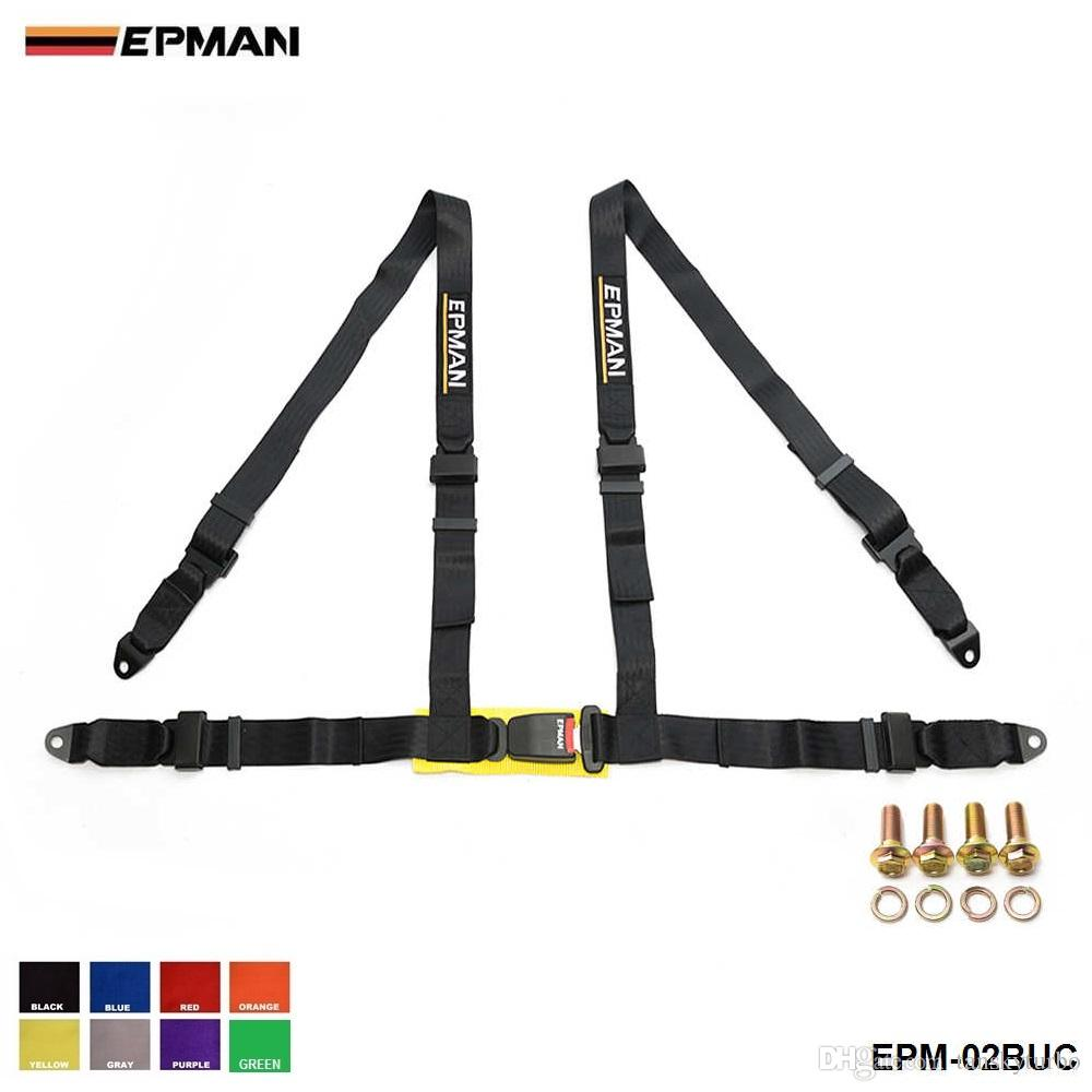 Safety Belt Epman Seat Belts Style Competition 4 Point Snap In 2 Seat Belt Racing Harness Safety Belt Seat Harness Epm 02buc
