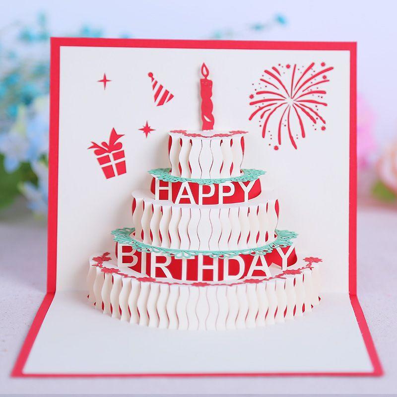 Compre Cartões De Aniversário Favores Da Festa De Aniversário