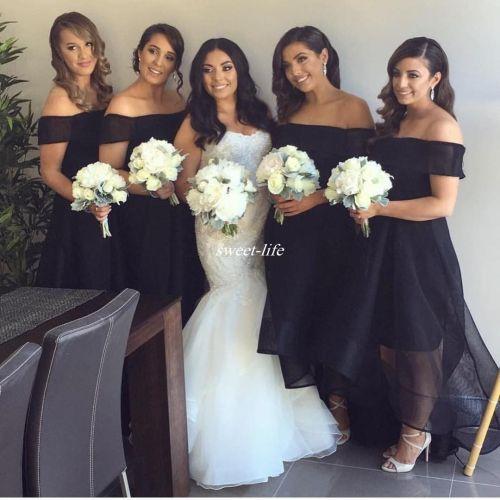 Medium Of Black Bridesmaid Dresses