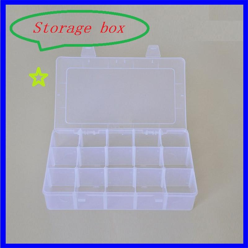 Plastic Collection Fishing Gear Boxes Simple 15 Lattice Thickening