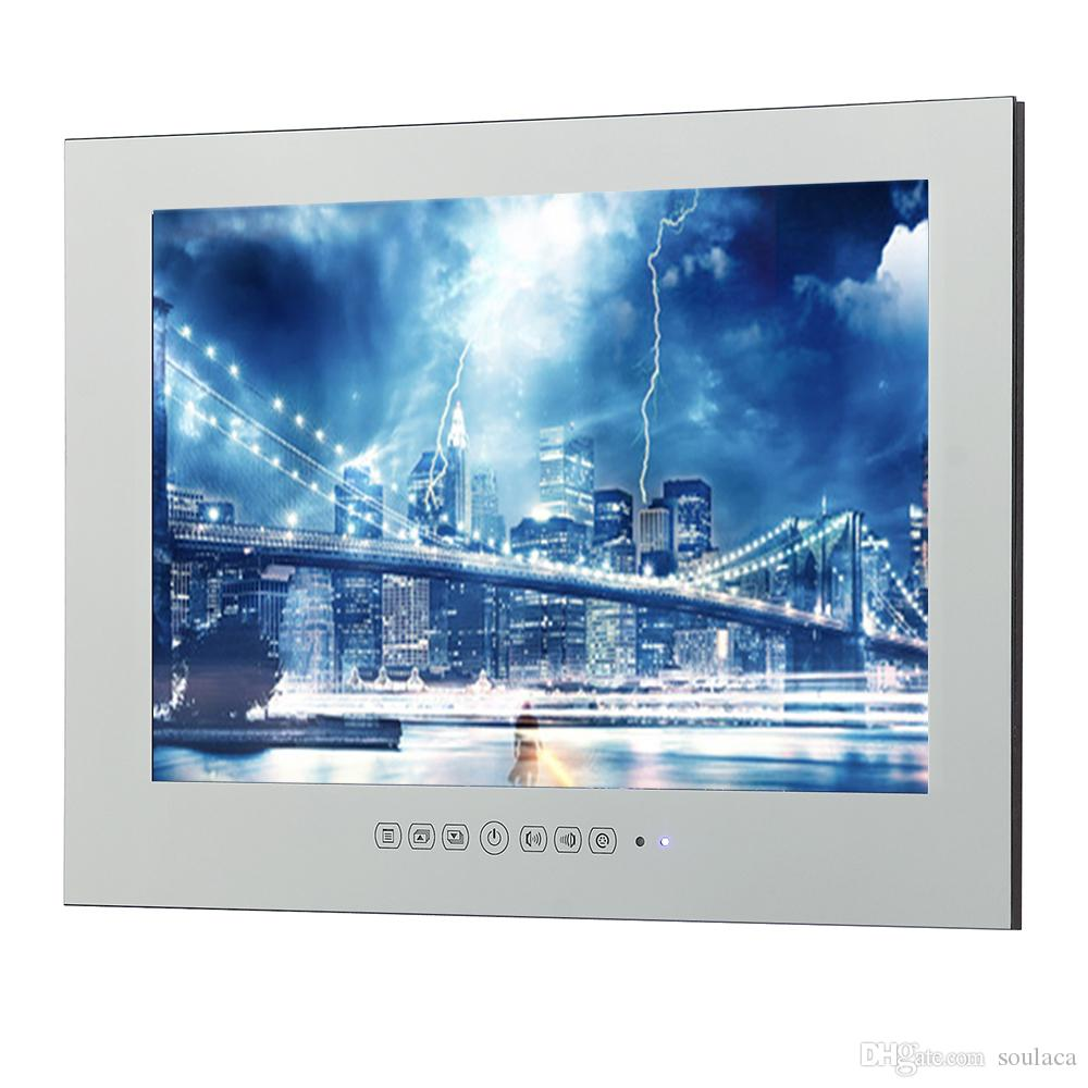 Tv Digitale Soulaca 15 6 Pollici Magic Mirror Hotel Led Tv Pubblicità Al Coperto Televisione Produttore Specchio Tv Presa Digitale Impermeabile Display Tv