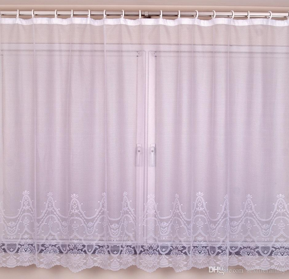 Bedroom Curtains Sale On Sale Polyester Lace Big Window Curtains For Lace Bay Curtain New Fashion Bedroom Elegant Curtain