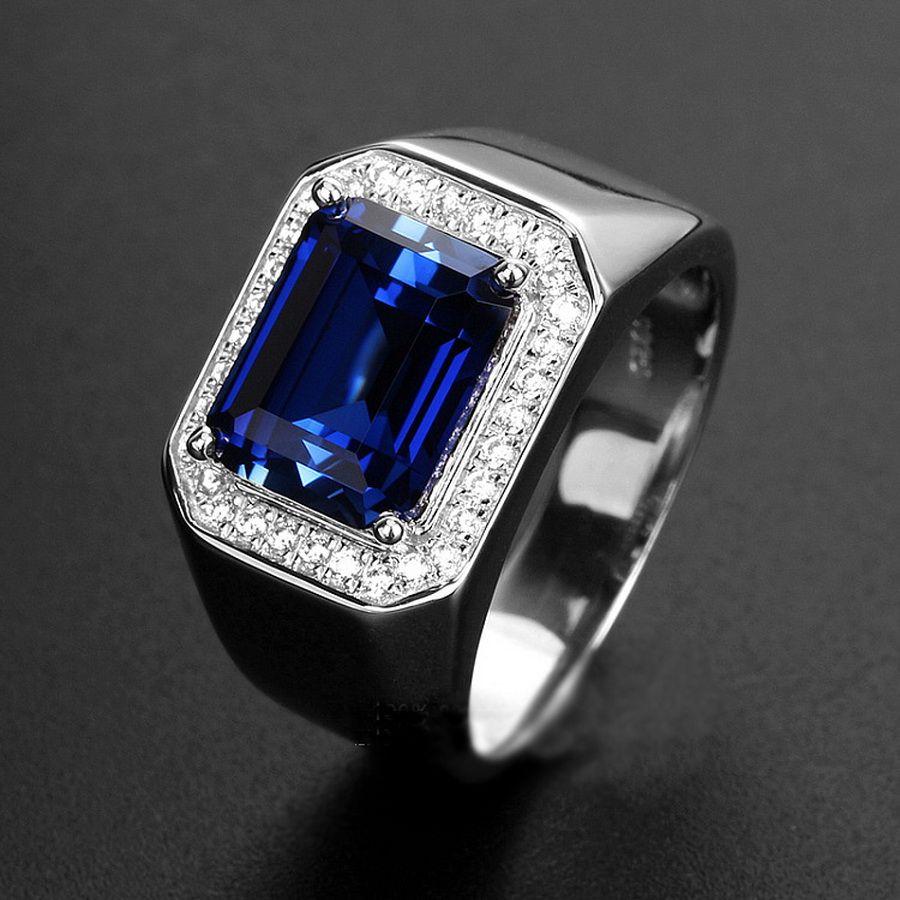Fullsize Of Mens Sapphire Rings