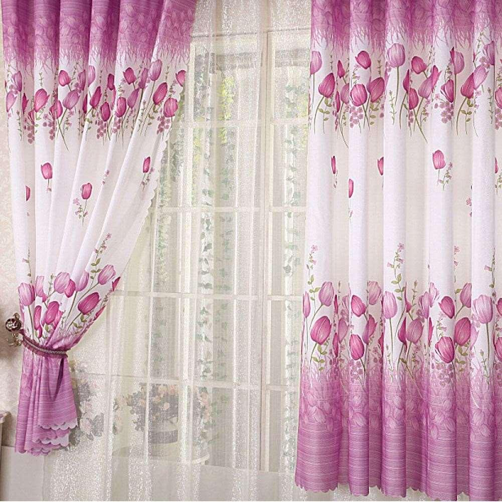 Kitchen Door Curtains Modern Home Living Room Window Tulle Curtains Kitchen Door Curtain Home Decoration Window Blinds