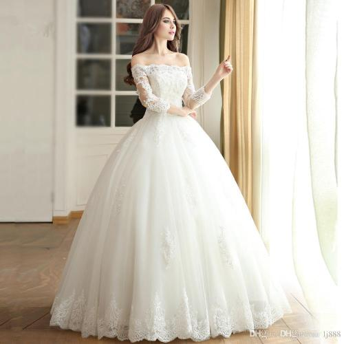 Medium Crop Of Simple Wedding Dress