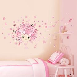 2018 New Style Kids Room Princess Wall Sticker Removable Romantic