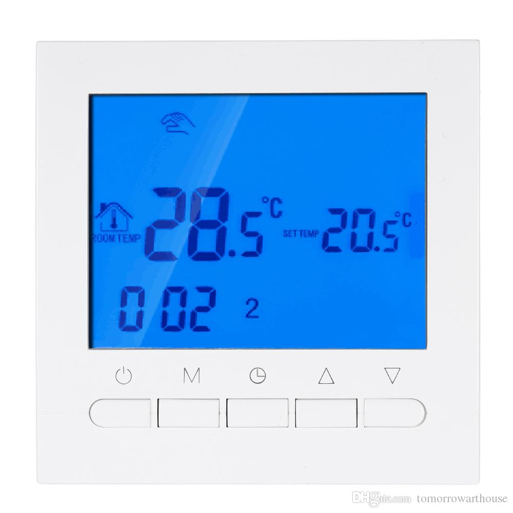 Heating Thermostat Programmable Thermostat With Wifi Function Electric Heating Thermostat Smart Wifi Temperature Controller 16a 200 240v Energy Saving