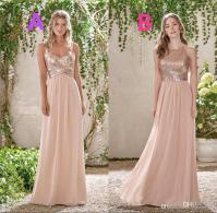 Rose Gold Junior Bridesmaid Dresses  Fashion dresses